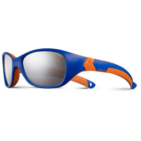 d69d4d08ec606f Julbo Solan Spectron 4 Sunglasses Kids 4-6Y Blue Orange-Gray Flash Silver